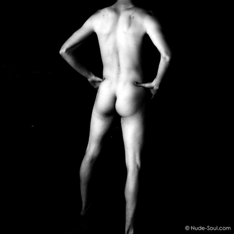 A bum, behind, butt, buttocks, cheeks, derrière